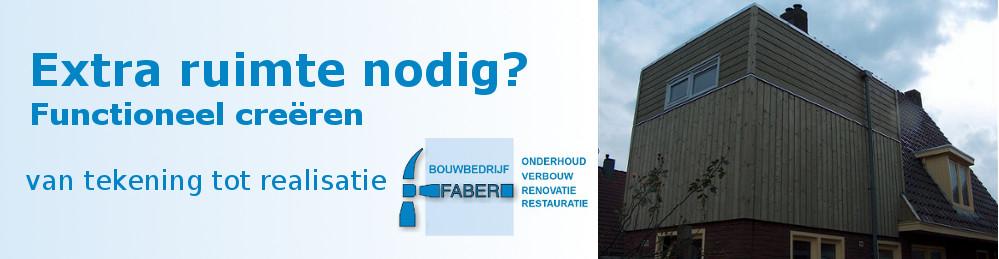 Bouwbedrijf Faber Speciale wensen